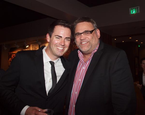 Michael Matthews and Michael C. Kricfalusi Photo