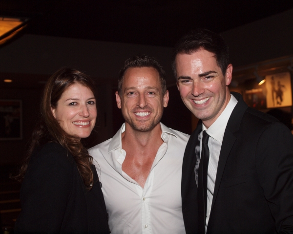 Nicole Parker, Josh Adamson, and Michael Matthews