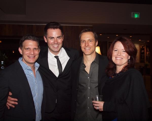 Todd Milliner, Michael Matthews, Michael Polak, and Anne James Photo