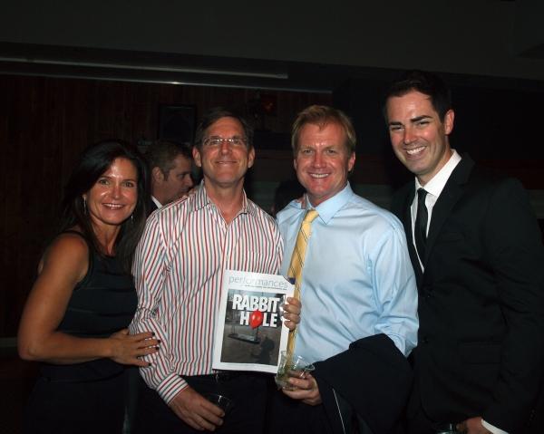 Elissa Szieff, Tim Bagley, Executive Producer Tom McCoy, and Michael Matthews