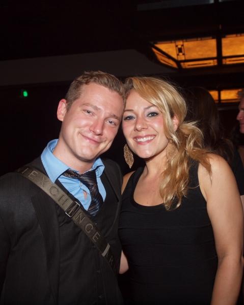 Brad Bukauskas and KrisTina Johnson Photo
