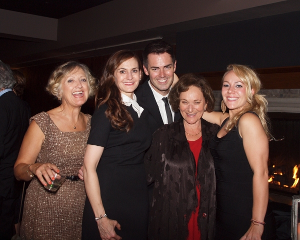 Lori Larsen, Deborah Puette, Michael Matthews, Eileen T'Kaye, and KrisTina Johnson Photo