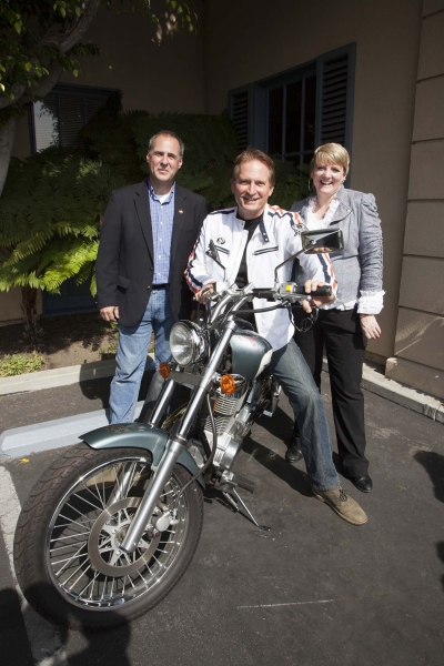 Grier Weeks, Rex Smith (Street Hawk and As The World Turns) and Alison Arngrim