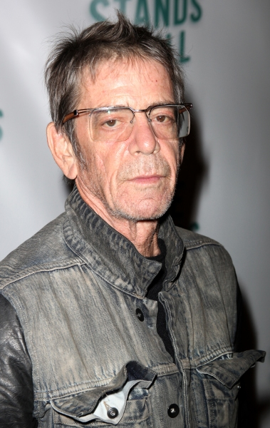 Lou Reed arriving for the Opening Night Performance of the MTC''s Production of TIME  Photo