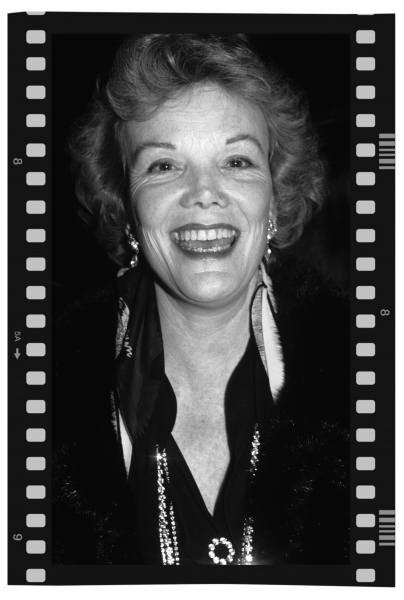 Nanette Fabray photographed in New York City. 1980
