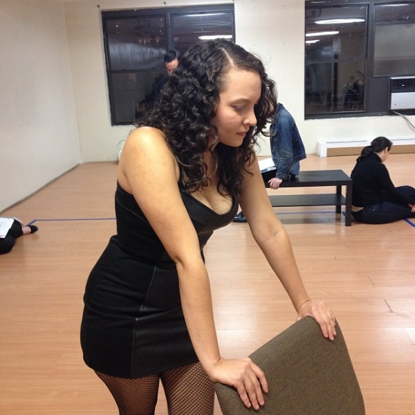 Samantha Mercado-Tudda as The Lap Dancer