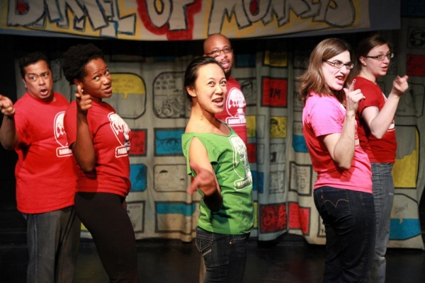 Photo Flash: Barrel of Monkeys New Revue CHICAGO'S WEIRD, GRANDMA - Oct. 28-Dec. 2, 2013 at The Neo-Futurist Theater
