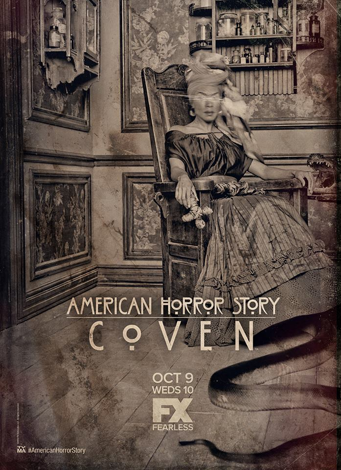 Jazzy New AMERICAN HORROR STORY: Inside The Coven Promo