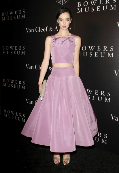 Krysten Ritter at  The Van Cleef and Arpels Bowers Museum Exhibit Gala in Santa Ana (Photo by Jim Smeal/BEImages)