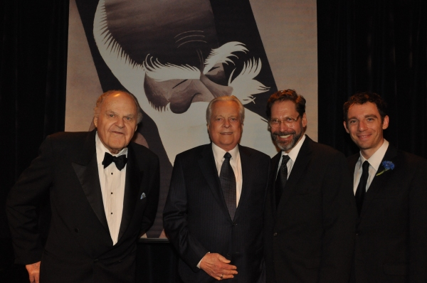 George S. Irving, Robert Osborne, David Staller and Max Gordon Moore