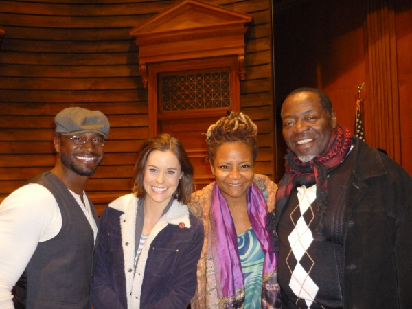 Taye Diggs, Ashley Williams, Tonya Pinkins, Chuck Coope