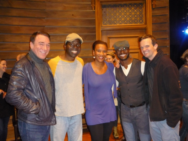 Patrick Page, Chike Johnson, Tijuana Ricks, Taye Diggs, Dashiell Eaves Photo