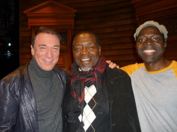 Patrick Page, Taye Diggs, Chike Johnson
