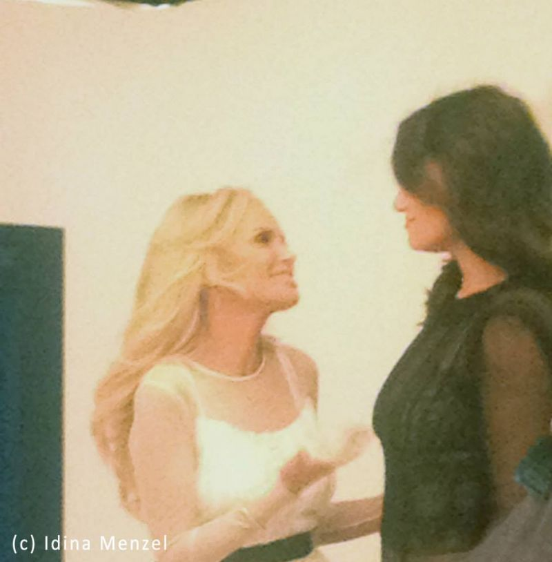 Behind The Scenes Of The WICKED Reunion With Idina Menzel & Kristin Chenoweth