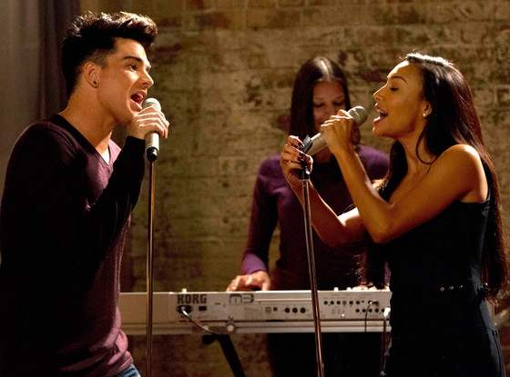 Photo Flash: Sneak Peek at Adam Lambert's GLEE Debut!