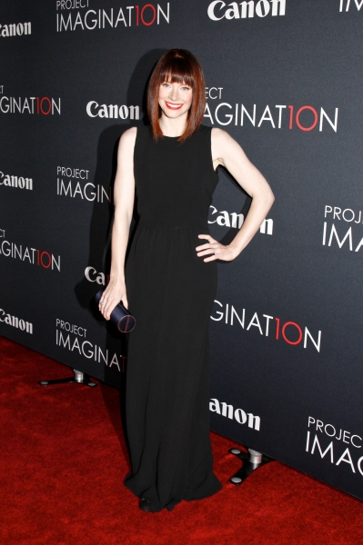 Bryce Dallas Howard at  Canon presents ''Project Imaginat10n'' film festival in New York (Photo by Gregory Pace/BEImages)