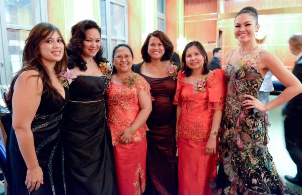 Maya Rowencak, Sibyl Santiago, Menchu De Luna Sanchez, Jaena Valle, Christine Sienicki