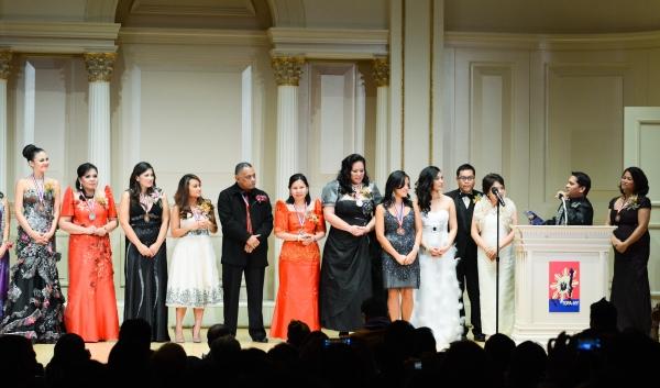 Lani Misalucha, awardees, board of directors, founder Elton Lugay Photo