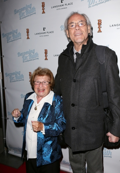 Dr. Ruth Westheimer and Robert Klein
