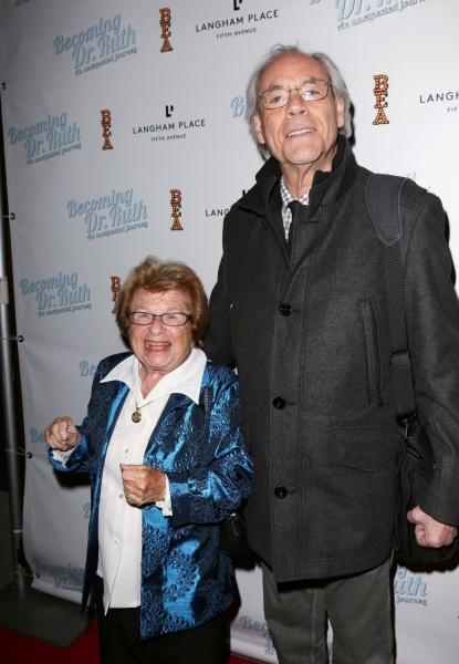 Dr. Ruth Westheimer and Robert Klein