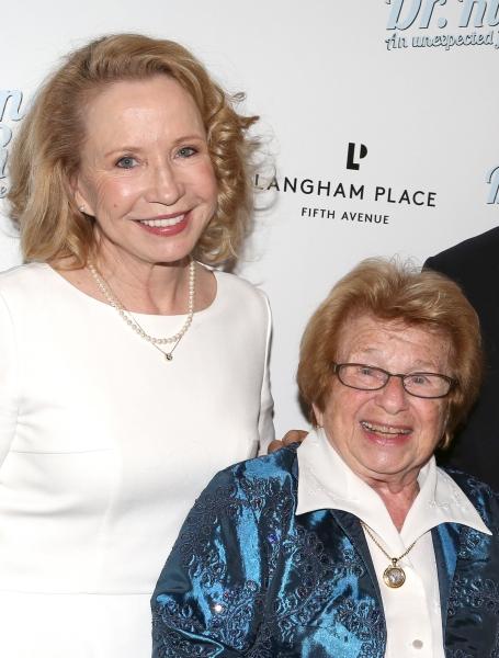Debra Jo Rupp and Dr. Ruth Westheimer