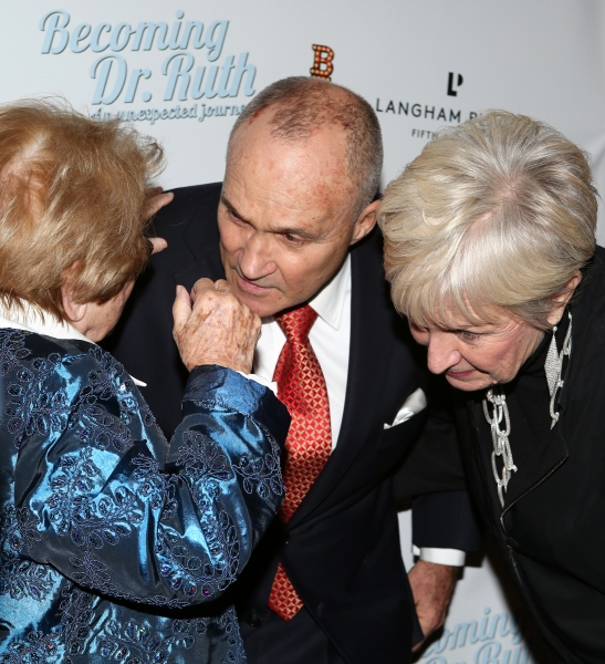 Dr. Ruth Westheimer with Police Commissioner Ray Kelly and wife Veronica