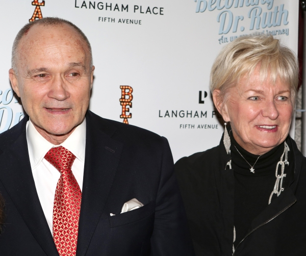 Police Commissioner Ray Kelly with wife Veronica