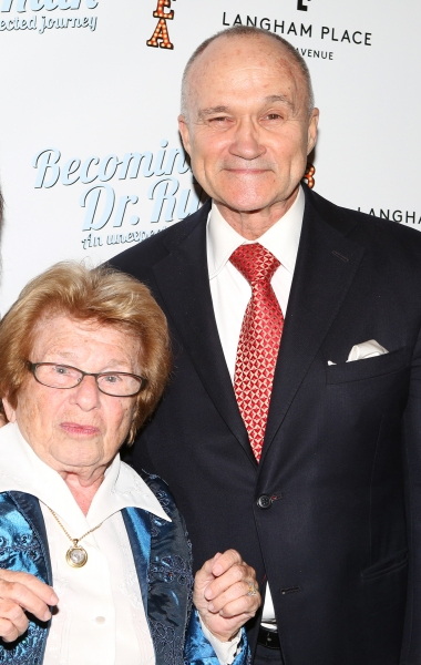 Police Commissioner Ray Kelly and Dr. Ruth Westheimer