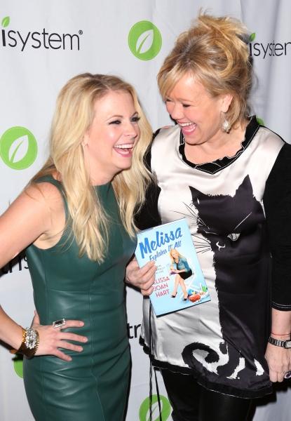 Melissa Joan Hart with Caroline Rhea