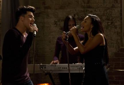 Adam Lambert, Naya Rivera