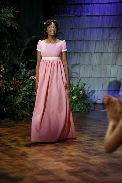 The ladies of The Talk dress in costume to the theme of Peter Pan on the Halloween episode on Thursday, Oct. 31, 2013 for the CBS Television Network. Aisha Tyler as Wendy, shown. Photo: Cliff Lipson/CBS �©2013 CBS Broadcasting Inc. All Rights Reserve