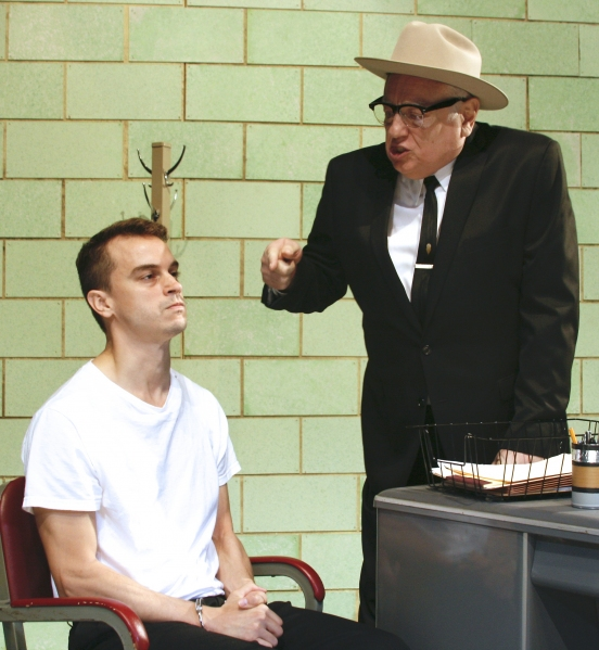 Photo Flash: First Look at Ben Williams & Ed Dixon in Casa Manana's OSWALD: THE ACTUAL INTERROGATION