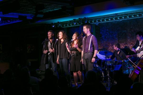 Adam Kemmerer, Anne Brummel, Marissa Perry and Matt Lutz Photo