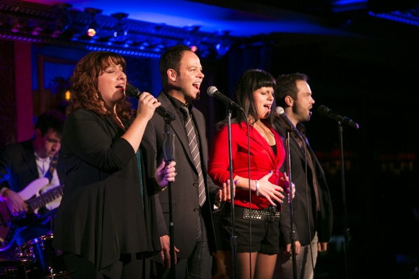Jenn Furman, Bobby Cronin, Katrina Rose Dideriksen and Brett Teresa