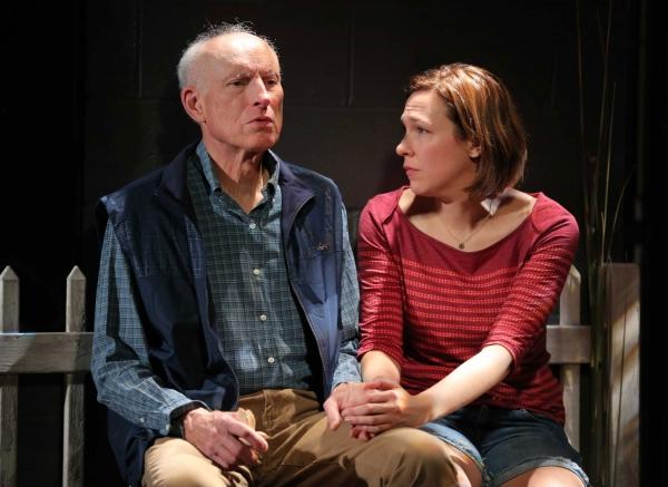 James Rebhorn and Rebecca Henderson Photo