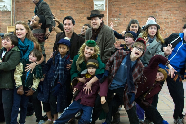 Photos: It's Ralphie to the Rescue! A CHRISTMAS STORY Cast Gives Press Preview!