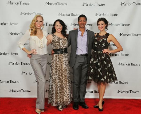 Brandi Wooten, Ericka Mac, Adam Rogers and Melissa Zaremba Photo