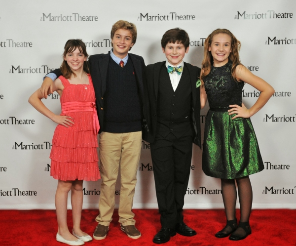Caroline Heffernan, Brady Tutton, Johnny Rabe and Madison Gloria Olszewski