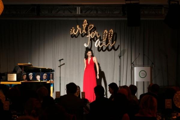 Sing for Hope Volunteer Artist Sandra Piques Eddy channels her fiery Carmen