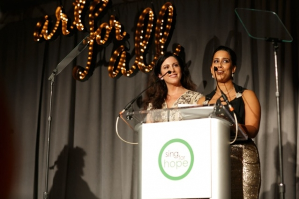 Sing for Hope Co-Founders Camille Zamora & Monica Yunus