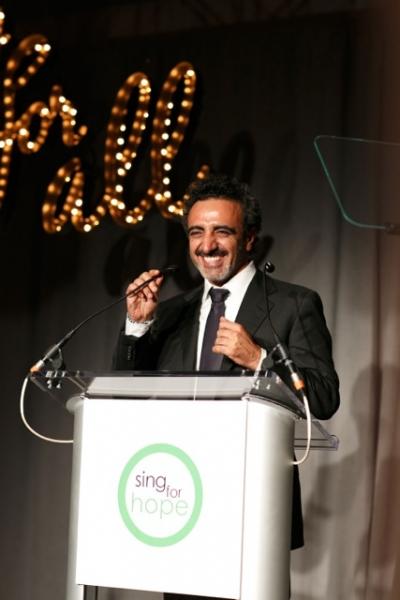 Sing for Hope 2013 ART FOR ALL Honoree Hamdi Ulukaya Photo