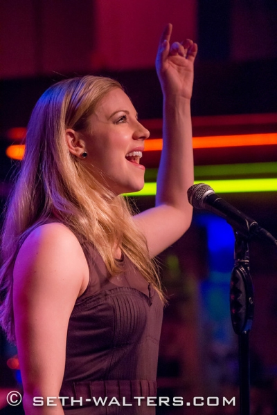 Photo Flash: BIG FISH's Kirsten Scott and More Perform at 'Jim Caruso's Cast Party' at Birdland