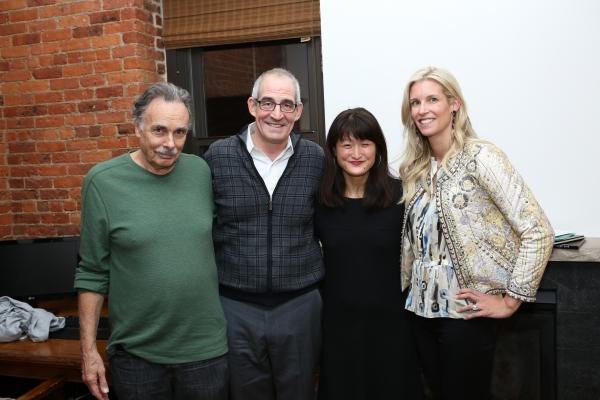 Arthur Kopit, John Eisner, Kimber Lee and Sandi Goff Farkas Photo