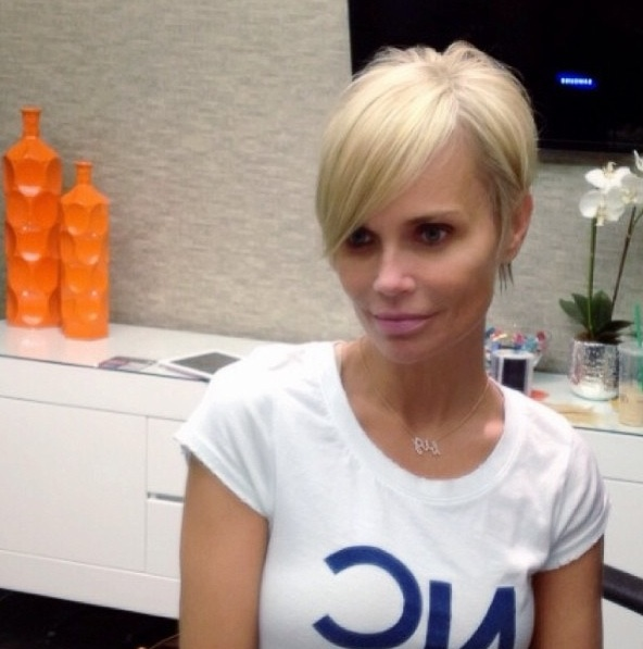 Kristin Chenoweth Shows Off New Pixie Haircut for Upcoming Film!