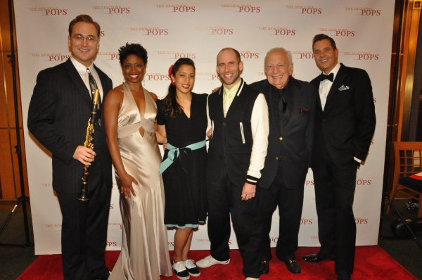 Dave Bennett, Montego Glover, Joeephine Say, Nathan Bugh, Bucky Pizzarella and Steven Photo