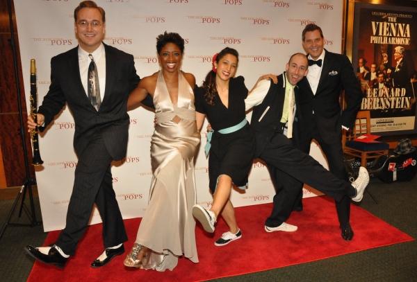 Dave Bennett, Montego Glover, Nathan Bugh, Josephine Say and Steven Reineke Photo