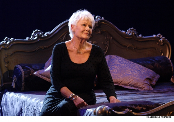 DAME JUDI DENCH as Desirée Armfeldt, singing 'Send in the Clowns' in Stephen Sondheim's  A Little Night Music (which she originally performed at the NT in 1995)