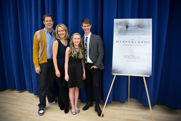 "Connor Russell (Disney's Aladdin world premiere), star of THE HINTERLANDS, who performed ""Like It Here,"" a song from the fifth episode of the series, Zoe Considine (A Christmas Story) who plays Paul's younger sister, Tony Award-nominee Erin Dilly"