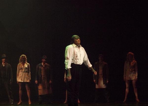 Danny Blaylock at curtain call
