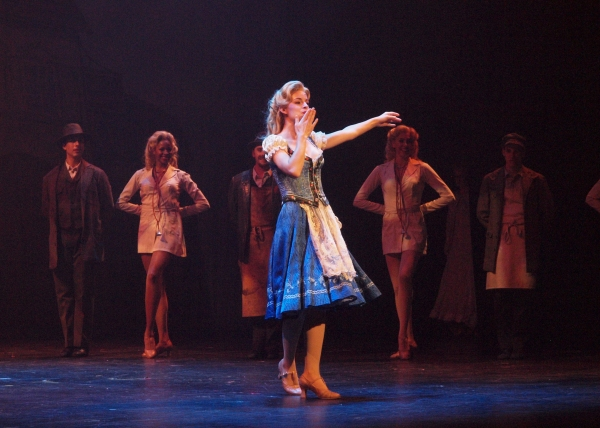 Andi Davis at curtain call
